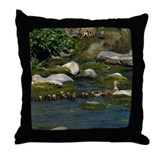Baby Ducks 1 Throw Pillow