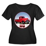 The KB pickup truck Women's Plus Size Scoop Neck D