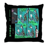 Funny Baradam Throw Pillow