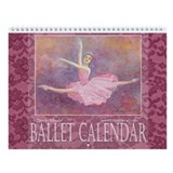 2013 Ballet Watercolor Calendar