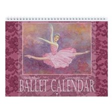 2014 Ballet Watercolor Calendar