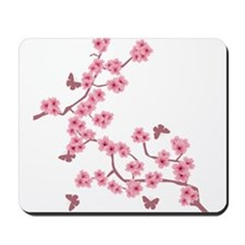 Cute Cherry blossoms Mousepad