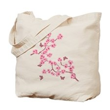 Cute Cherry blossoms Tote Bag