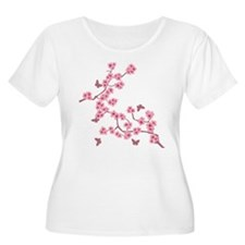Unique Cherry blossoms T-Shirt