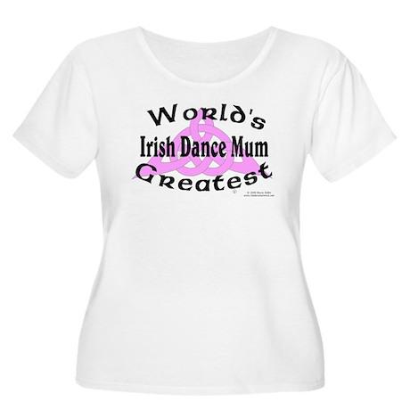 Greatest Mum - Women's Plus Size Scoop Neck T-Shir
