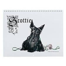 Celtic Scottish Terrier Wall Calendar