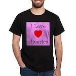 I Love America Black T-Shirt