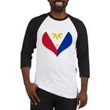 Filipino Heart Flag Baseball Jersey