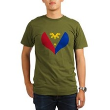 Filipino Heart Flag T-Shirt