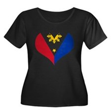 Filipino Heart Flag T