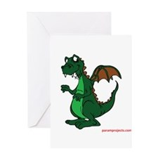 Unique Funny dinosaur Greeting Card