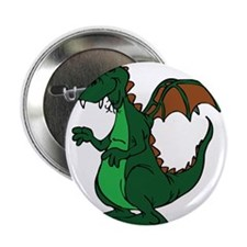 "Cute Baby dinosaur 2.25"" Button (10 pack)"