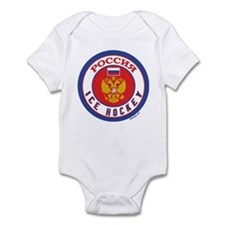 RU Russia/Rossiya Hockey Onesie