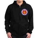 RU Russia/Rossiya Hockey Zipped Hoodie