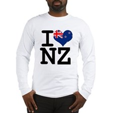 I Heart NZ Long Sleeve T-Shirt