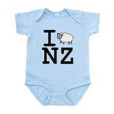 I Sheep NZ Infant Bodysuit