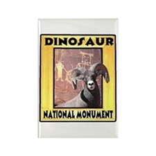 Dinosaur National Monument Rectangle Magnet