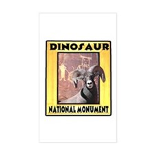 Dinosaur National Monument Rectangle Decal