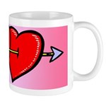 Valentine Heart Pair Model 1 Mug