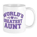 World's Greatest Aunt Small Mug