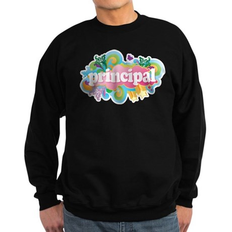 Cute Retro Principal Sweatshirt (dark)
