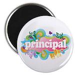 Cute Retro Principal Magnet