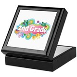 2nd Grade Retro Keepsake Box
