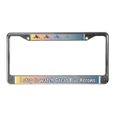 GP-Heron License Plate Frame