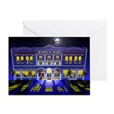 La Nuit Avant Noel Greeting Card