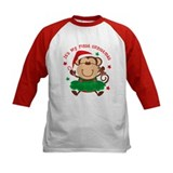 Monkey Girl 1st Christmas  T