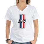 Cars 1924 Women's V-Neck T-Shirt