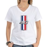 Cars 1940 Women's V-Neck T-Shirt