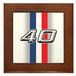 Cars 1940 Framed Tile