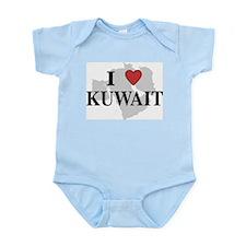 I Love Kuwait Infant Creeper