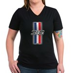 Cars 1936 Women's V-Neck Dark T-Shirt