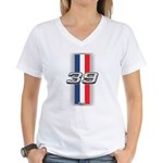 Cars 1939 Women's V-Neck T-Shirt