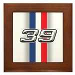 Cars 1939 Framed Tile