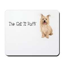 Cute Cairn rescue Mousepad