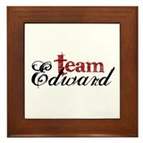 Team Edward Framed Tile