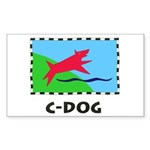 C-DOG Sticker