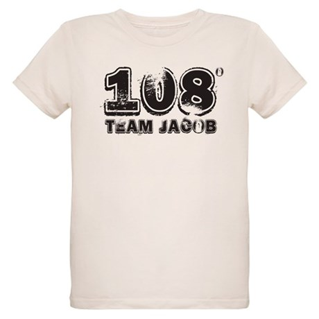 108 Degrees (black) Organic Kids T-Shirt
