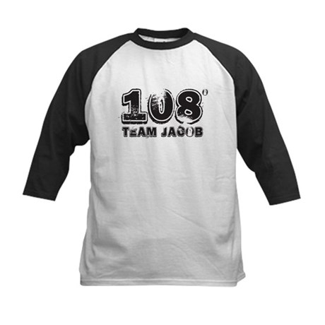 108 Degrees (black) Kids Baseball Jersey