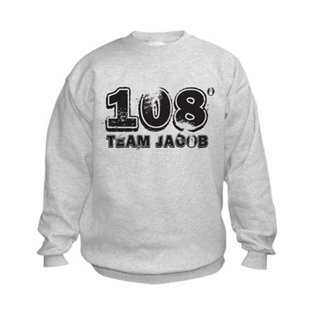 108 Degrees (black) Kids Sweatshirt