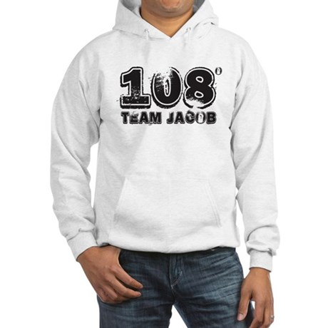 108 Degrees (black) Hooded Sweatshirt