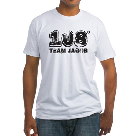 108 Degrees (black) Fitted T-Shirt