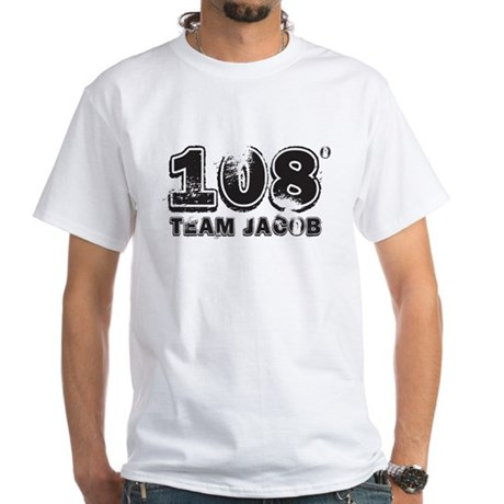 108 Degrees (black) White T-Shirt