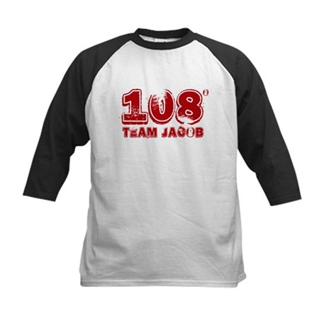 108 Degrees (red) Kids Baseball Jersey