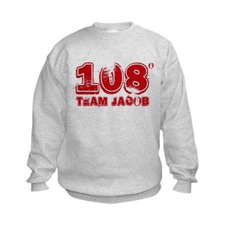 108 Degrees (red) Kids Sweatshirt