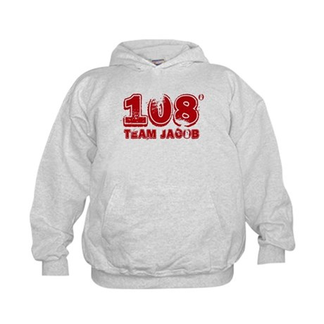 108 Degrees (red) Kids Hoodie