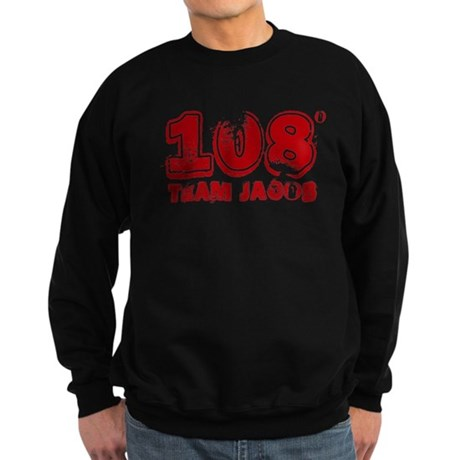 108 Degrees (red) Sweatshirt (dark)